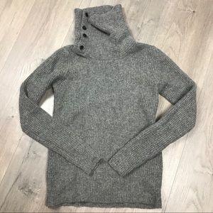 All Saints turtleneck wool sweater